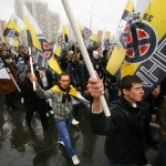 15,000 Russian Nationalists march in Moscow.