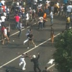 Africans riot in China