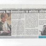 ANC: All charity should go to racially pure Negroes