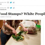 Huffington Post stages Food Stamp hoax