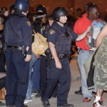 Race riots feared in Cleveland. 71 already arrested.